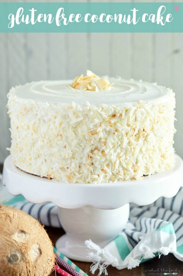 Gluten Free Coconut Cake from What the Fork