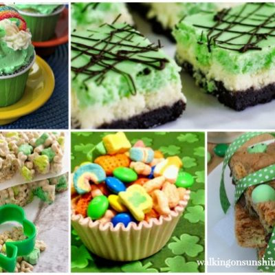 St. Patrick's Day Green Treats