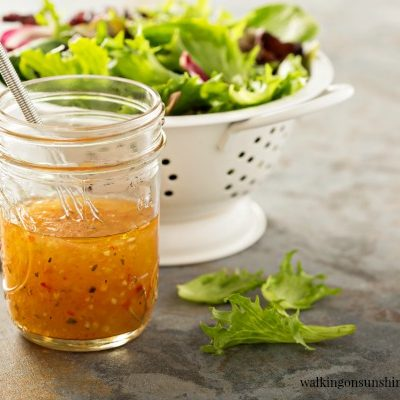 Recipe:  Homemade Italian Salad Dressing