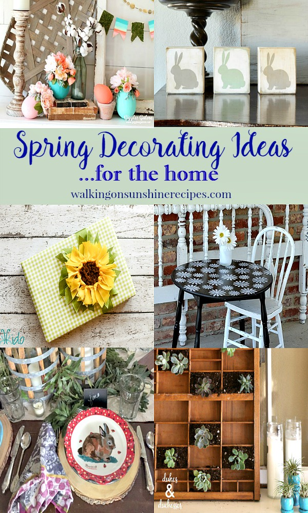 Party: Spring Decorating Ideas and Foodie Friends Friday Party 239 from Walking on Sunshine