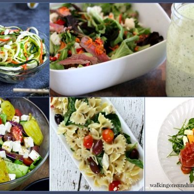 Party: Spring Salad Recipes and Foodie Friends Friday Linky Party 240