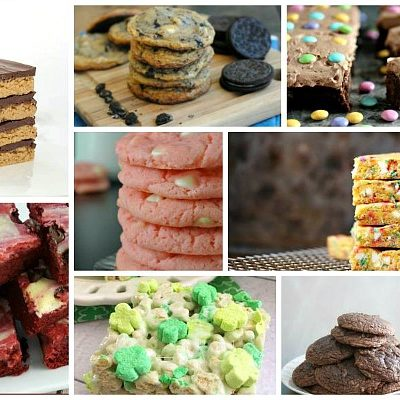 Favorite Cookies and Bar Recipes with Delicious Dishes