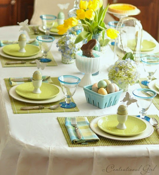Between Naps on the Back Porch : easter table setting - Pezcame.Com