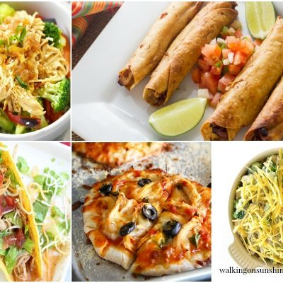 Party: Chicken Dinner Recipes with Foodie Friends Friday
