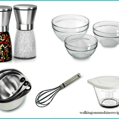 My Kitchen Essentials Tool List