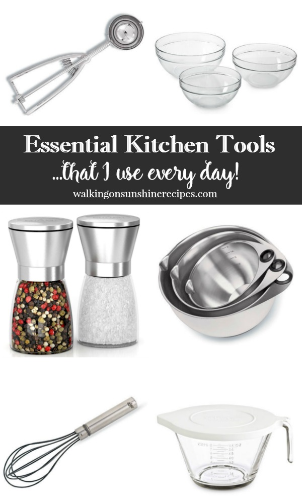 a great list of basic kitchen essentials tools that i love using every day from walking - Kitchen Tools List