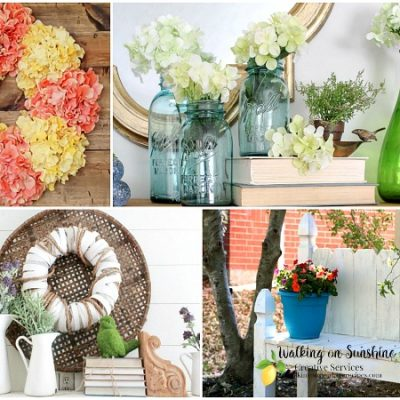 Party: Gorgeous Spring Ideas with Foodie Friends Friday Linky Party