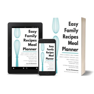 The Well Ordered Kitchen Planner