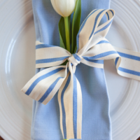 Really Simple Easter Place Settings