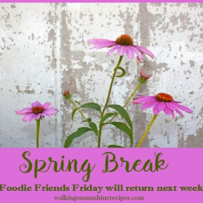 Party:  Spring Break for Foodie Friends Friday
