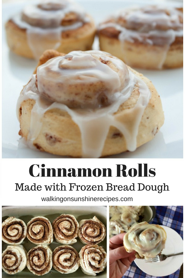 How To Make Easy Cinnamon Rolls Using Frozen Bread Dough