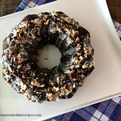 Easy German Chocolate Cake from a Cake Mix
