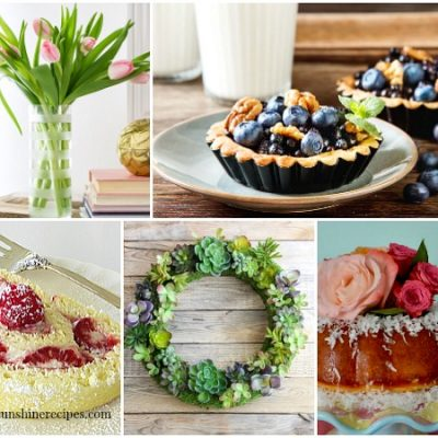 Garden Party Recipes and Decor