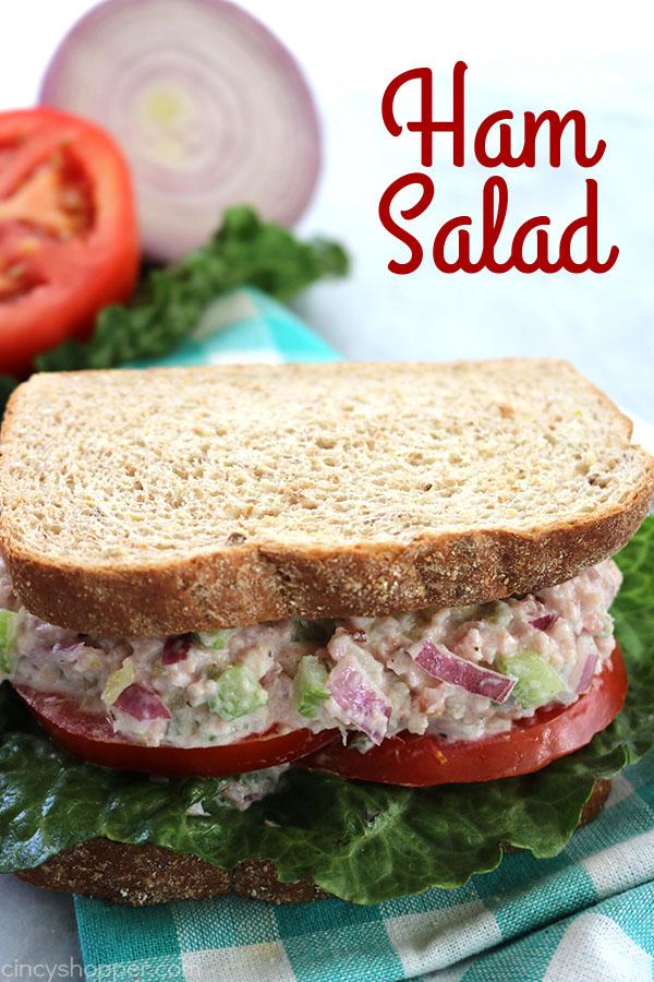 Ham Salad Sandwich from Cincy Shopper