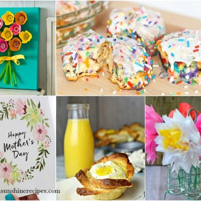 Party: Mother's Day Brunch and Craft Ideas