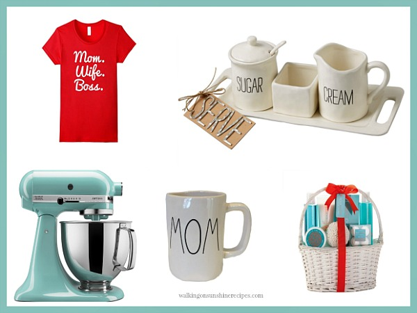 Reader's choice Mother's Day Gift Ideas and Guide from Walking on Sunshine.
