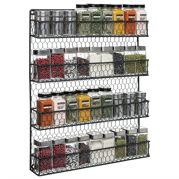 Rustic Chicken Wire Pantry