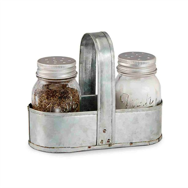 Salt and Pepper Caddy Set