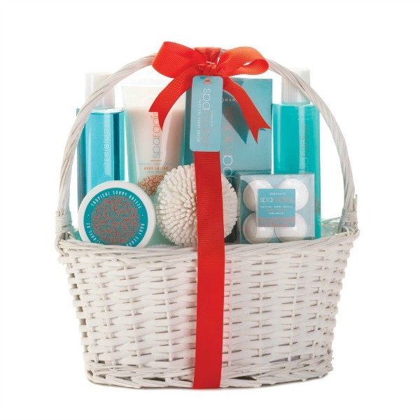 Spa Basket Aqua