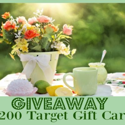 $200 Target Gift Card Giveaway