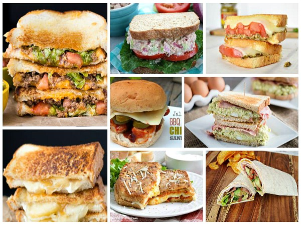 Summer Sandwiches perfect for dinner featured on Walking on Sunshine.