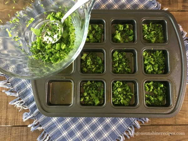 Add broccoli muffin tin for Scrambled Egg Muffins