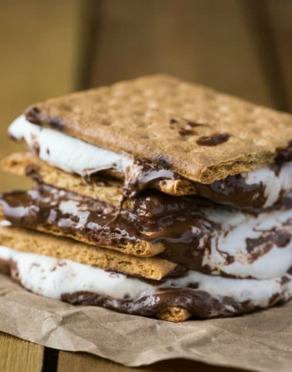 BBQ Smores from The Bewitchin Kitchen