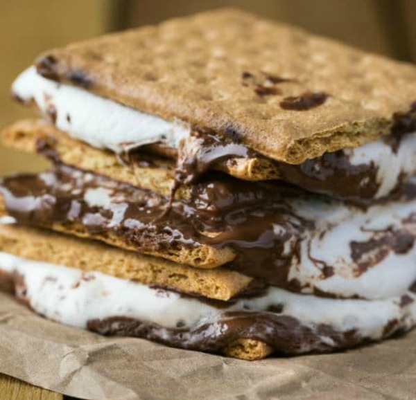 BBQ Smores are featured on Delicious Dishes Recipe Party from Walking on Sunshine