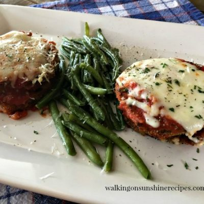 The Secret to Healthy Baked Eggplant Parmesan