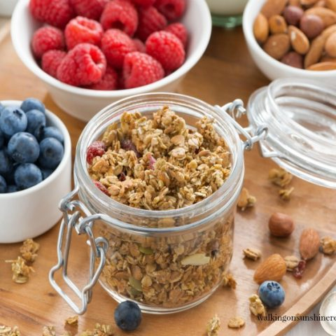 Quick Stove Top Granola