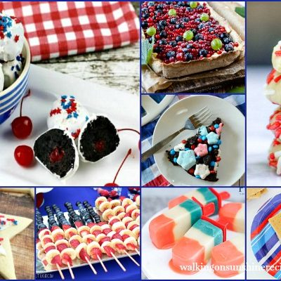 Red, White and Blue Patriotic Treats – Delicious Dishes