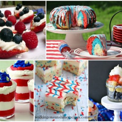 Party: Red, White and Blue Patriotic Desserts