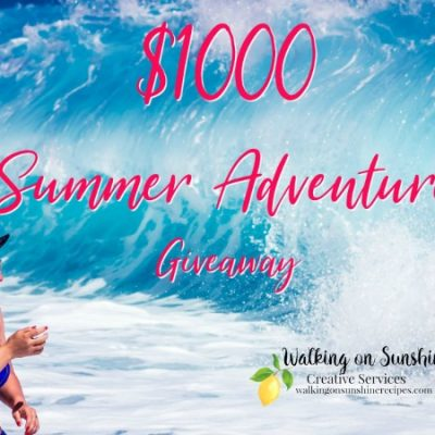 Giveaway: Summer Adventure $1000 Giveaway