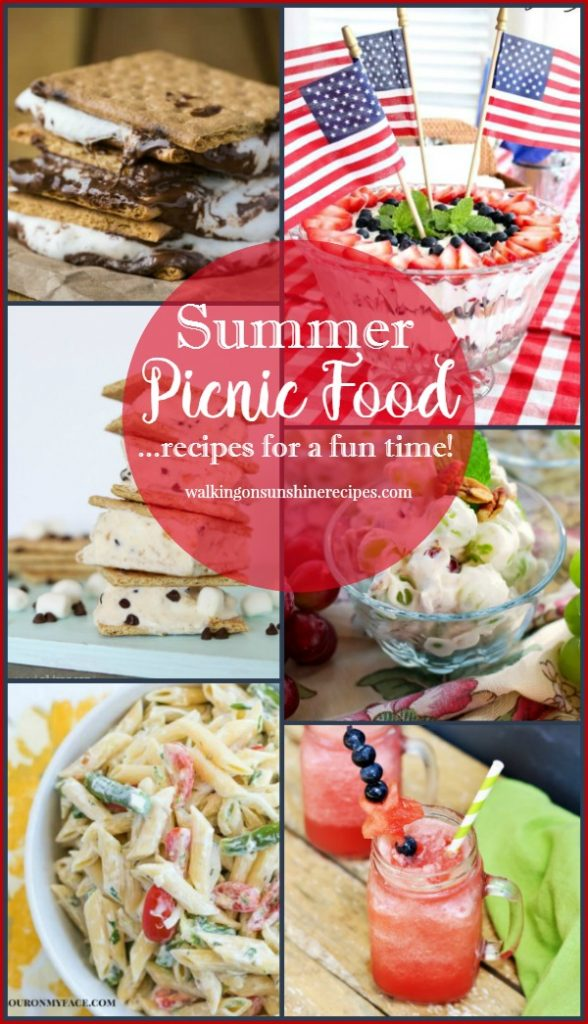 Easy Picnic Food is featured this week from Walking on Sunshine.