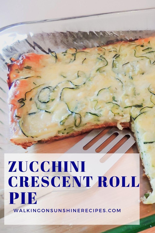 Zucchini Crescent Roll Pie Pin 2