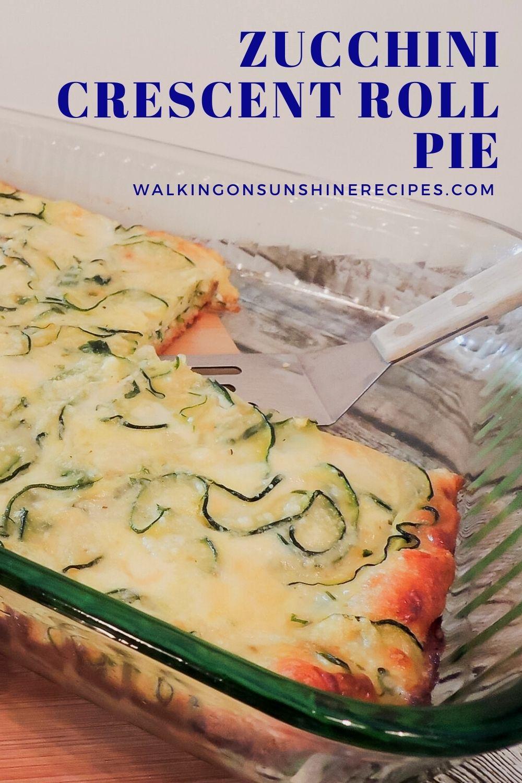 Zucchini Crescent Roll Pie Pin