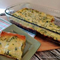 Zucchini Pie with Crescent Roll Crust