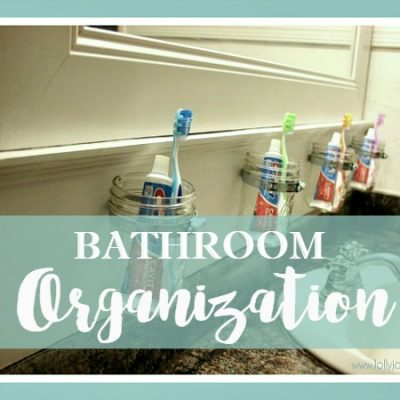 Easy Bathroom Organization Tips