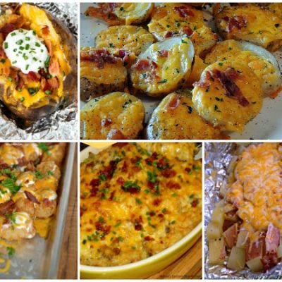 Weekly Meal Plan – Potato Recipes – Side Dishes