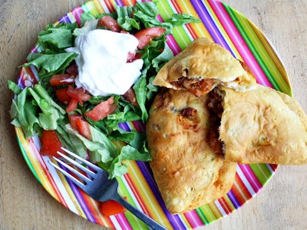 Easy Taco Pockets