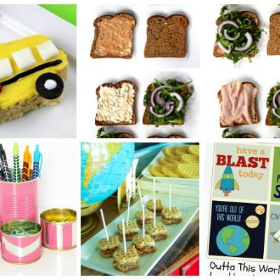 Back-to-School Ideas with Foodie Friends Friday