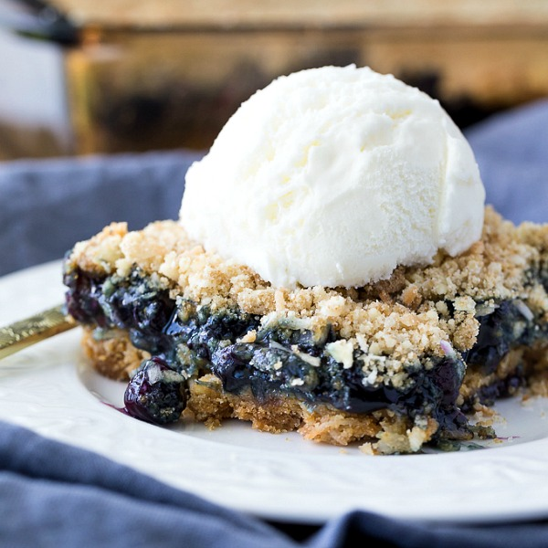 Blueberry Crackle Cake from Simply Stacie