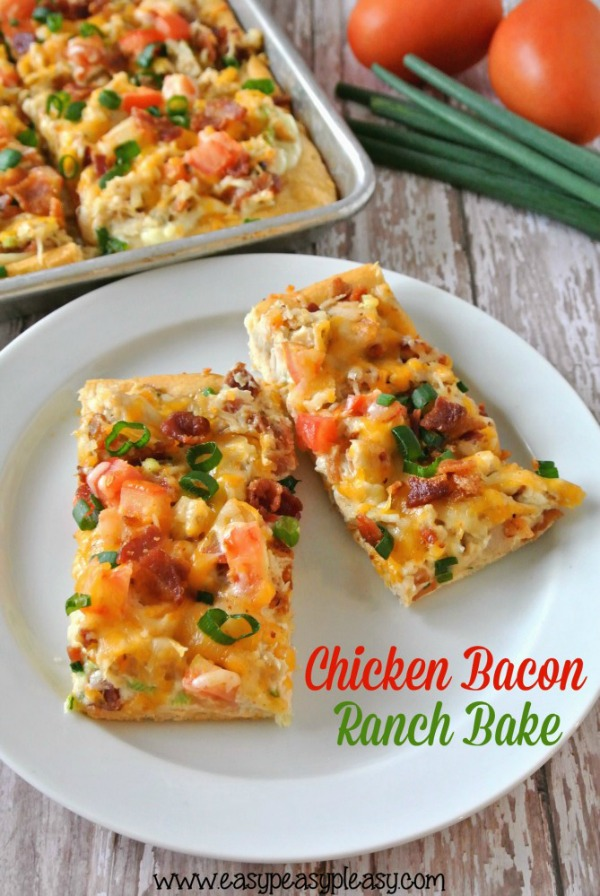 Chicken Bacon Ranch Bake from Easy Peasy Pleasy