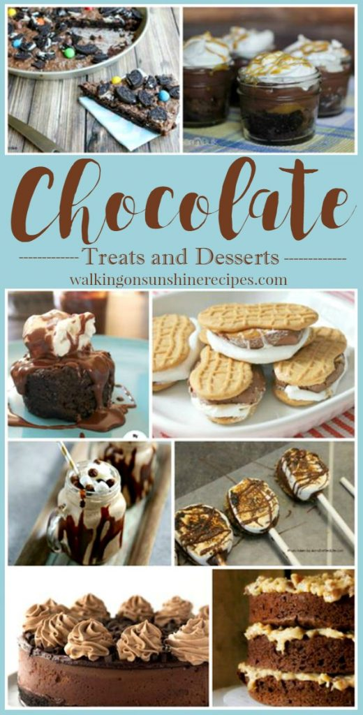 Chocolate Treats and Desserts | Walking on Sunshine