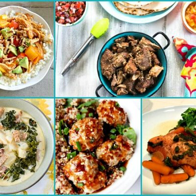Party: Easy to Make Crock Pot and Instant Pot Recipes