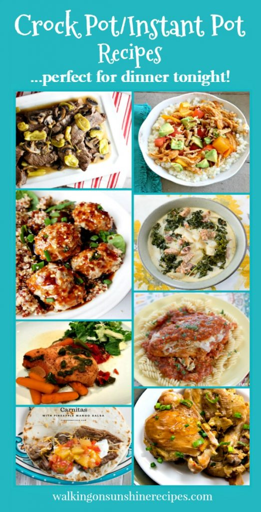Party easy to make crock pot and instant pot recipes walking on crock pot recipes instant pot recipes perfect for busy nights walking on sunshine forumfinder Images