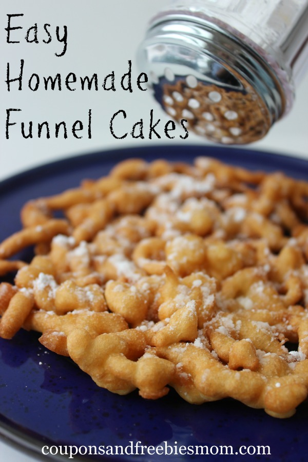 Easy Homemade Funnel Cakes from Coupons and Freebies Mom