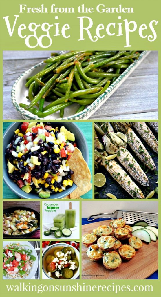 Fresh from the Garden Veggie Recipes | Delicious Dishes Recipe Party | Walking on Sunshine.