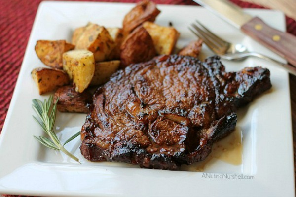 Grilled Ribeyes from Eat Move Make