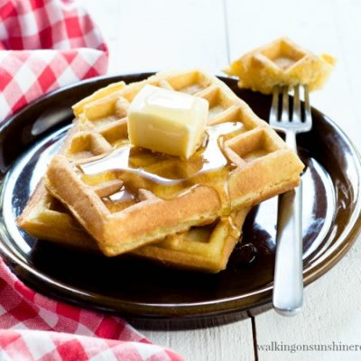 Recipe: How to Make Easy Homemade Waffles that you can Freeze
